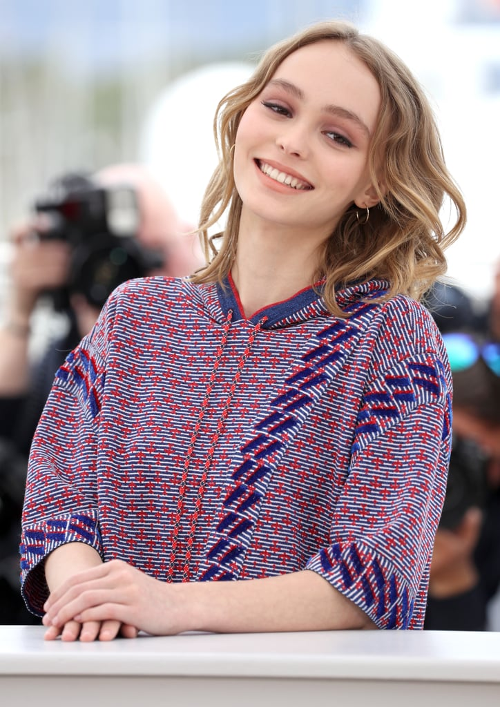 Lily-Rose Depp popped up at the photocall for her film, The Dancer, at the Cannes Film Festival in 2016. The 16-year old model and actress struck a series of poses in a cozy Chanel hoodie and short set and linked up with her costars, Mélanie Thierry, Gaspard Ulliel, and Kristen Stewart's ex-girlfriend Soko. Lily-Rose plays the role of famed dancer Isadora Duncan in the 19th-century drama. Also on hand for the fun in Cannes is Lily-Rose's mom, Vanessa Paradis; the French native is one of this year's jury members at the festival along with Kirsten Dunst, Donald Sutherland, and Danish actor Mads Mikkelsen. Though Vanessa and Lily-Rose have yet to hit the red carpet together this week, the teenager's stunningly similar looks to her mom are likely making festivalgoers do double takes.