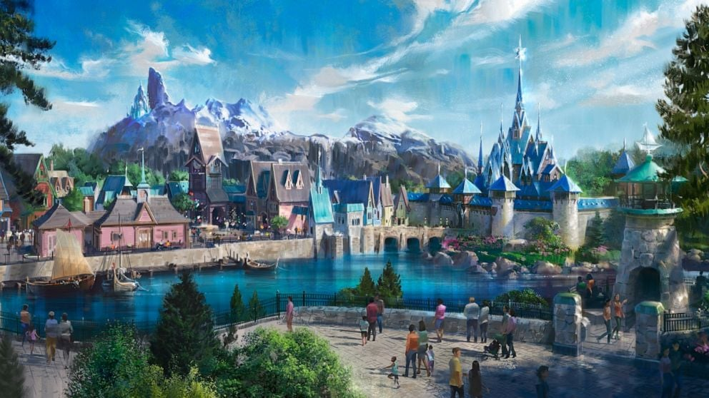 Disney Just Released New Details About Frozen Land, and It Looks Magical