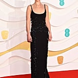 Emilia Clarke at the 2020 BAFTAs in London