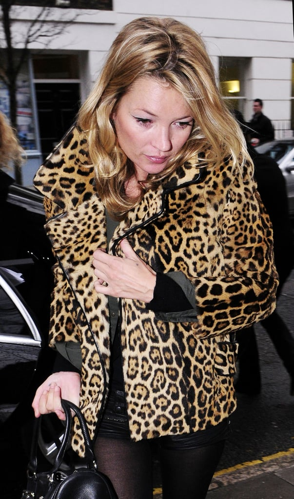 Photos of Kate Moss Out For Lunch in London