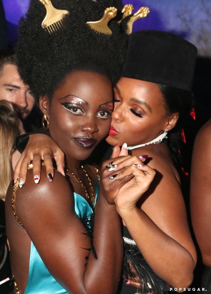 Lupita Nyong'o and Janelle Monáe