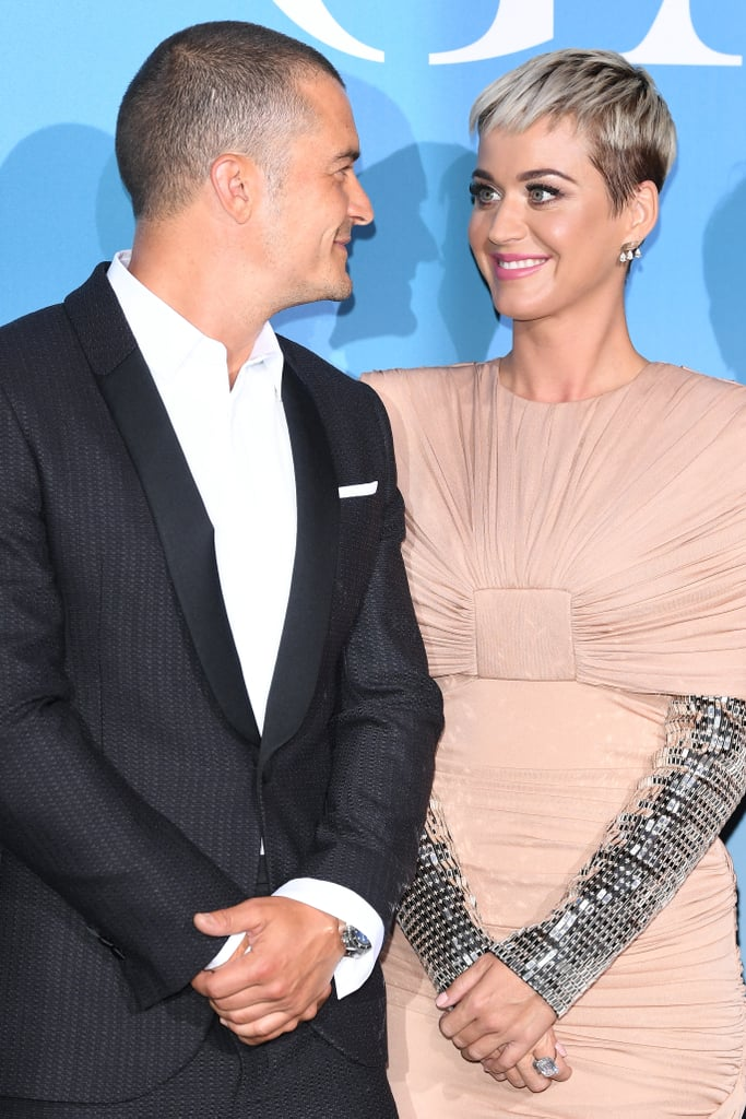 Well, it finally happened — Katy Perry and Orlando Bloom made their red carpet debut as a couple at the Global Ocean Gala in Monaco on Wednesday. The pair — who has been dating on and off since 2016 — dressed to the nines as the attended the charity event, which was hosted by Prince Albert II. The royal was, of course, accompanied by his beautiful wife, Princess Charlene, and the two joined Katy and Orlando on the red carpet for pictures. Not only did the soirée mark Katy and Orlando's first red carpet together, but the actor was also a chair for the event along with Madonna, Goldie Hawn, and Eva Longoria. Katy and Orlando first got together in January 2016 and dated for a little over a year before calling it quits in February 2017. However, their split was short-lived as they rekindled their romance earlier this year. Proof that sometimes giving it a second chance is worth a shot!