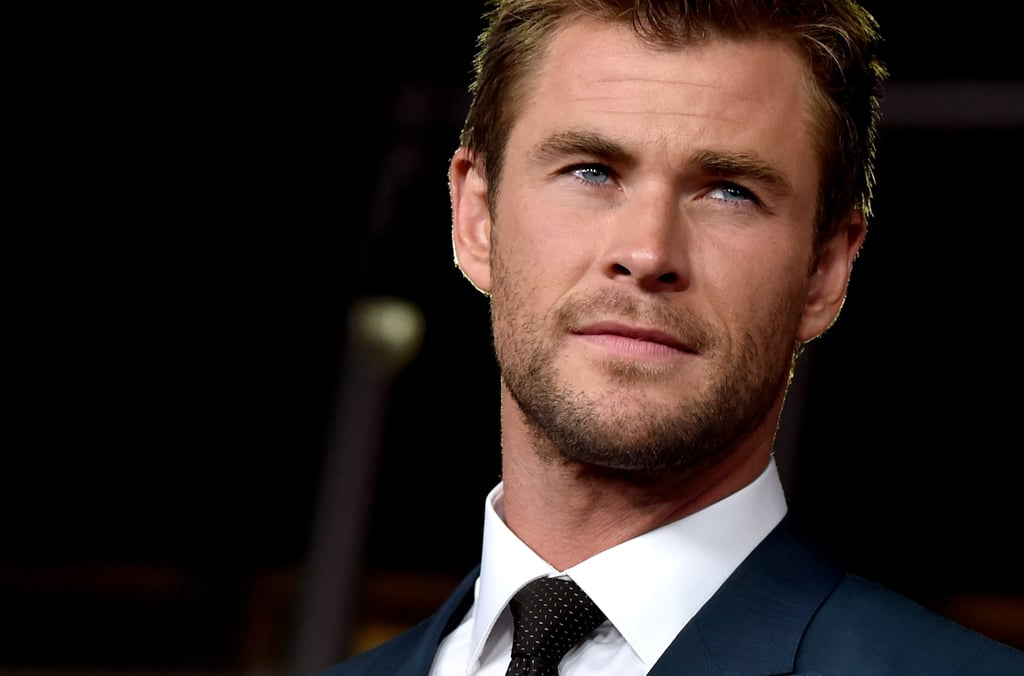 Every Chris Hemsworth moment is a sexy one, but over the years, he's had some seriously standout red carpet appearances that deserve to be seen again and again. Long hair, short hair — everything seems to work on Chris, who managed to snag the title of People magazine's Sexiest Man Alive last year. As he celebrates his 32nd birthday, check out some of his hottest red carpet moments through the years, then see what would happen if the Avengers were on Tinder plus what Chris told us about his Age of Ultron makeover.