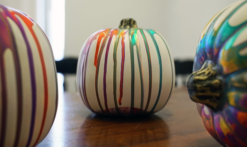 How to Make a Marbled Pumpkin With Paint