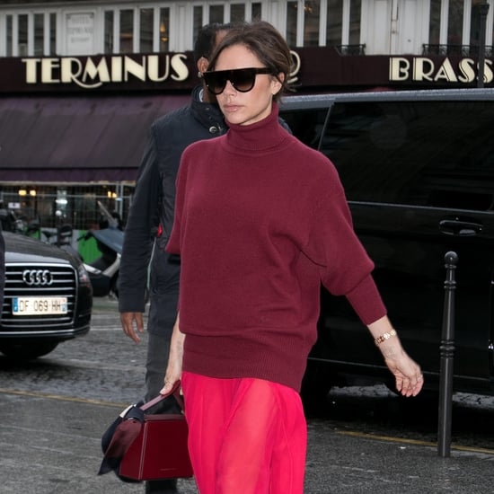 Victoria Beckham's Red Monochrome Outfit