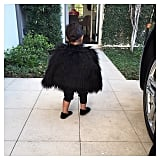 North West Is Killing It in Her Latest All-Black Ensemble