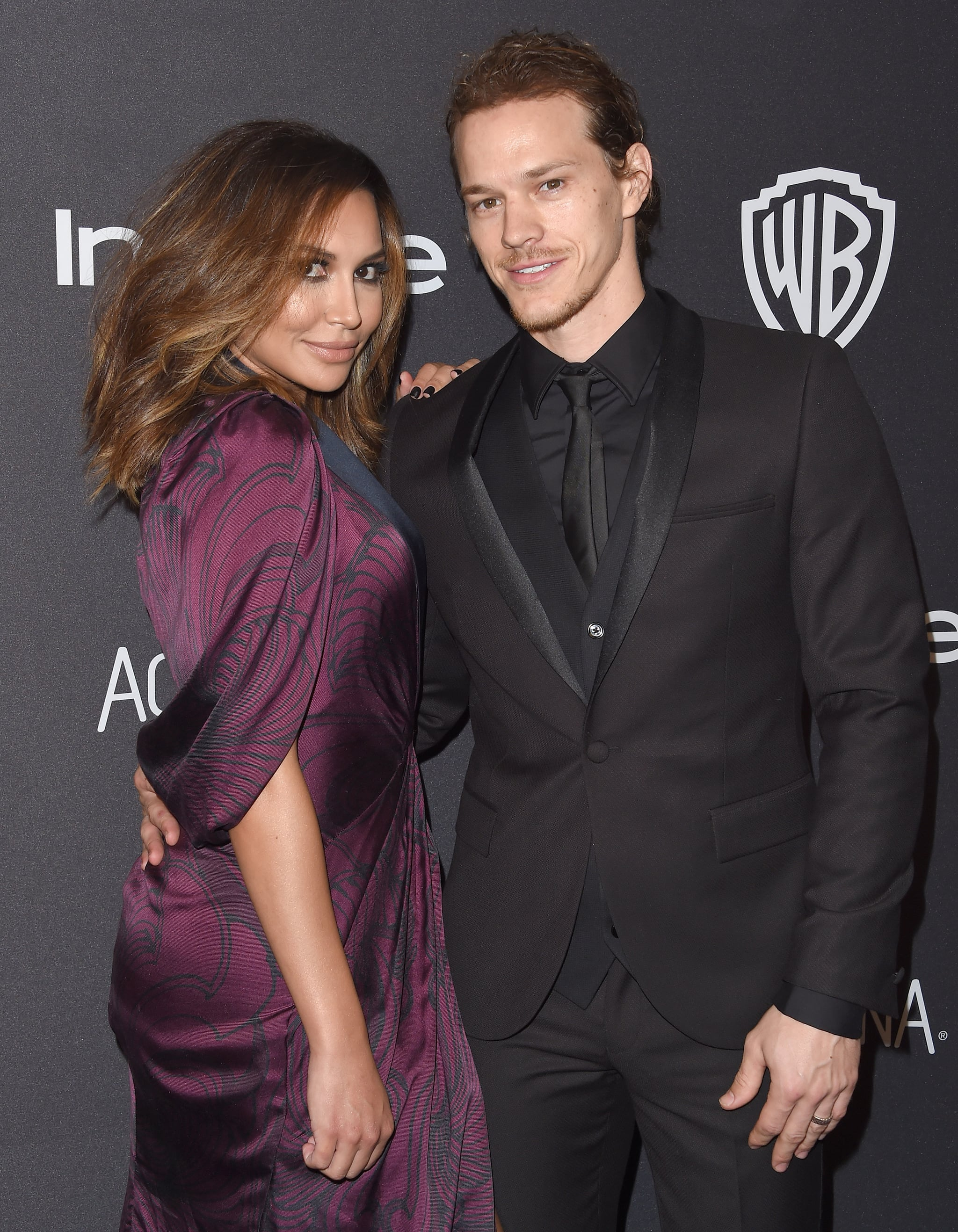 BEVERLY HILLS, CA - JANUARY 10:  Actors Naya Rivera and husband Ryan Dorsey arrive at the 2016 InStyle And Warner Bros. 73rd Annual Golden Globe Awards Post-Party at The Beverly Hilton Hotel on January 10, 2016 in Beverly Hills, California.  (Photo by Axelle/Bauer-Griffin/FilmMagic)