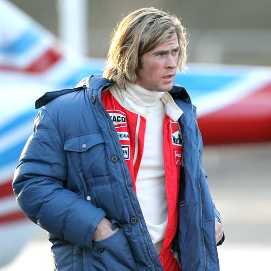 Chris Hemsworth Filming Rush Pictures
