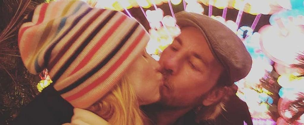 Kristen Bell and Dax Shepard Kissing Photo December 2018
