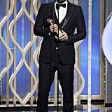 Ben Affleck won for Argo.
