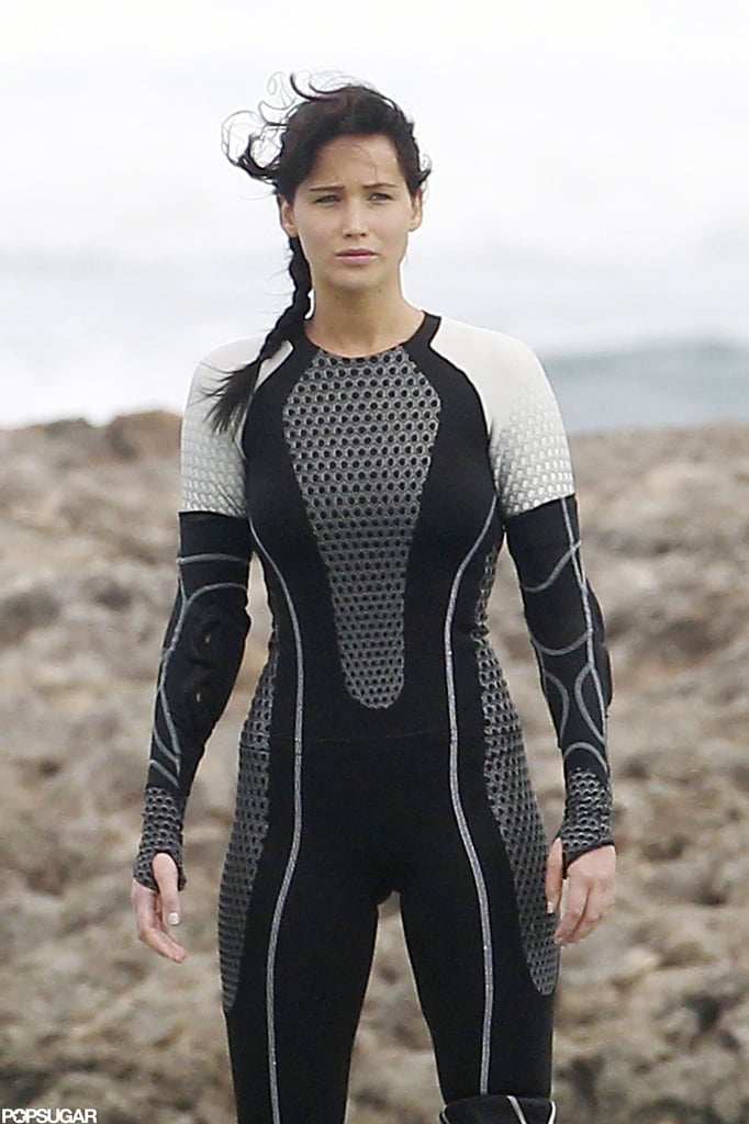 Jennifer Lawrence filmed scenes for Catching Fire in Hawaii.