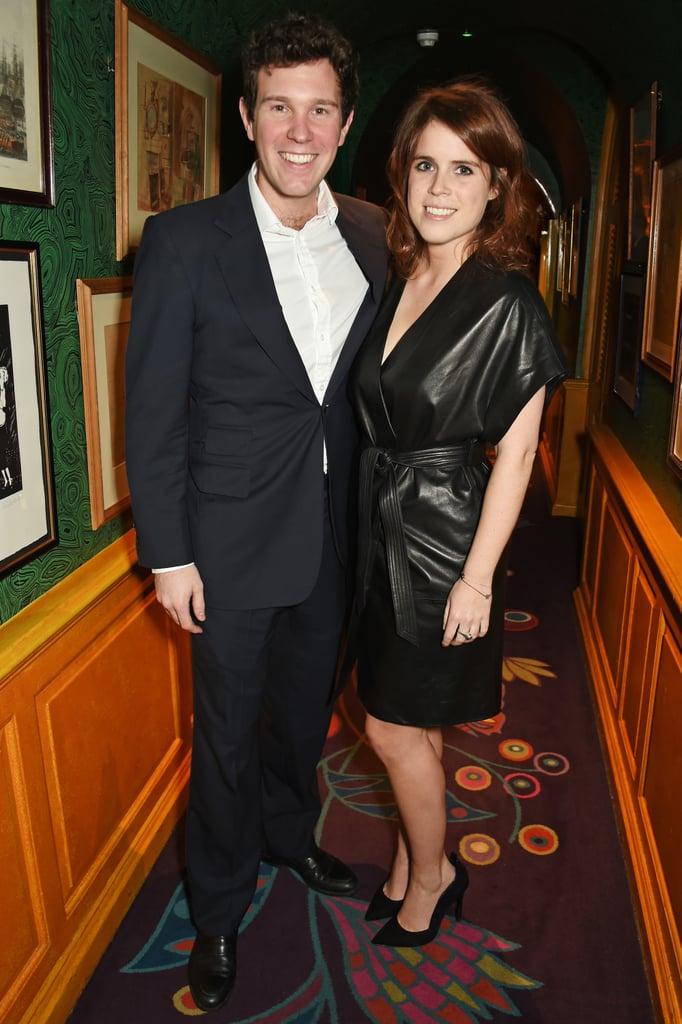 And When Jack Stays Classic, Princess Eugenie Brings the Edge in Leather