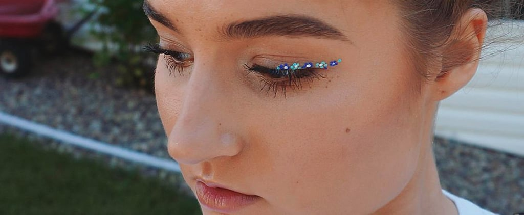 This New Eyeliner Trend Is Blooming Beautiful