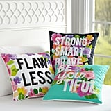 MayBaby Flower Power Pillow Covers ($35)