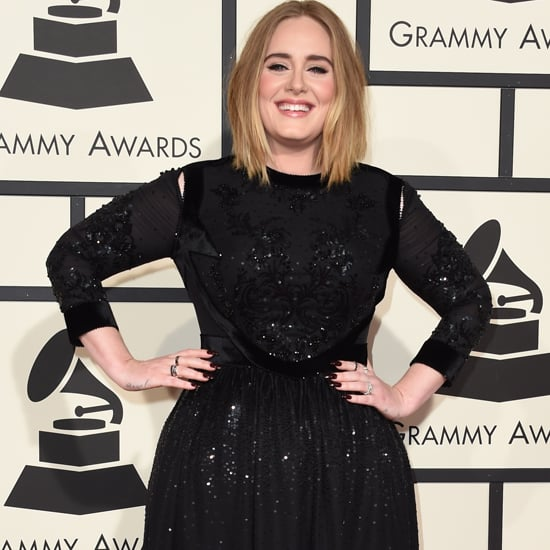 Adele's Dress at the Grammys 2016