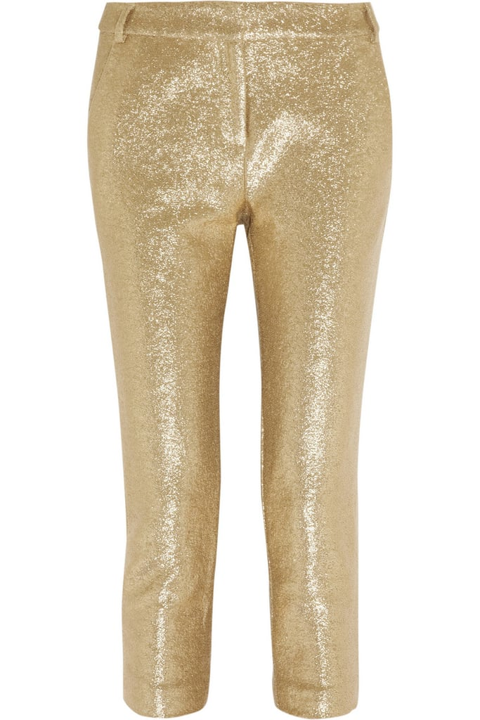 No doubt, you'll be the life of the dance party in these Tibi Cotton Paillette-Embellished Jersey Pants ($475).