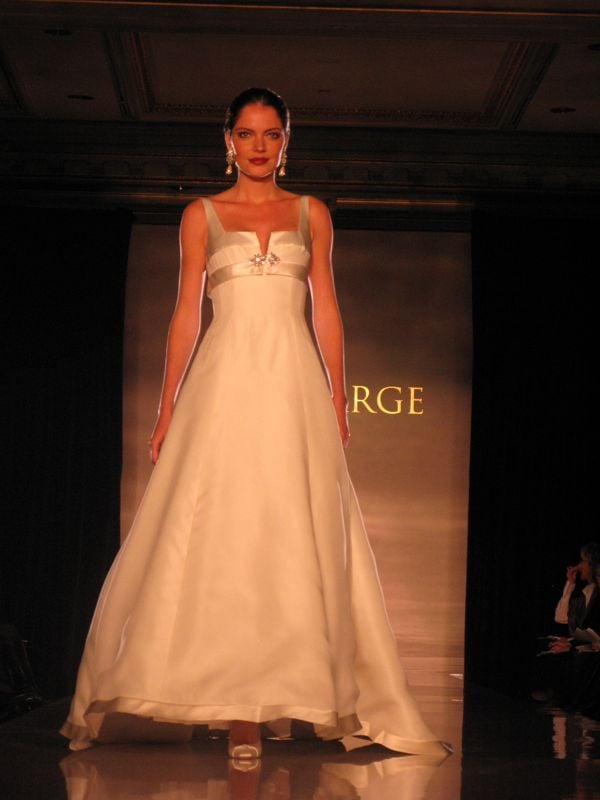 New York Bridal Market: Anne Barge Fall 2009