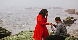 This Woman Had No Idea That Their Couple's Photo Shoot Was Actually a Surprise Proposal!
