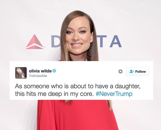 Olivia Wilde Destroyed Trump And Announced Her Baby's Gender All In One Tweet