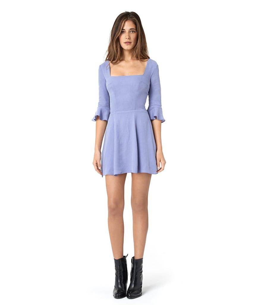 The Emily Dress in Powder Blue ($250)