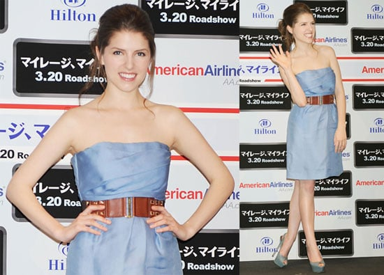 Photos of Twilight's Anna Kendrick Promoting Up in the Air in Tokyo, Japan