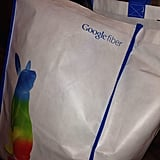 """""""Here is the bag I'll be returning my Comcast equipment in."""""""