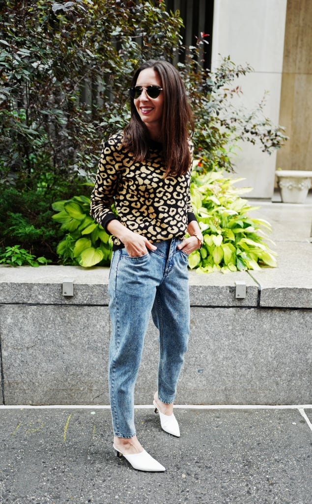 Style Your Jeans With: A Sweater, Mules, and Sunglasses