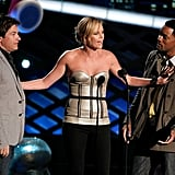 Jason Bateman, Charlize Theron, and Will Smith