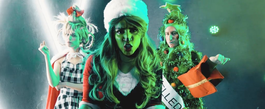 "Billie Eilish ""Bad Guy"" and Grinch Christmas Parody Video"