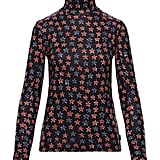 Moncler Grenoble Genius Printed Jersey Turtleneck Sweater