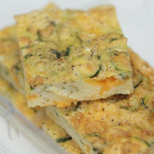 Easy Zucchini Frittata | POPSUGAR Fitness