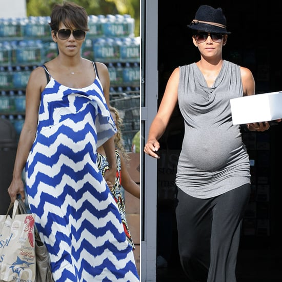 Halle Berry and Her Bump Go Shopping