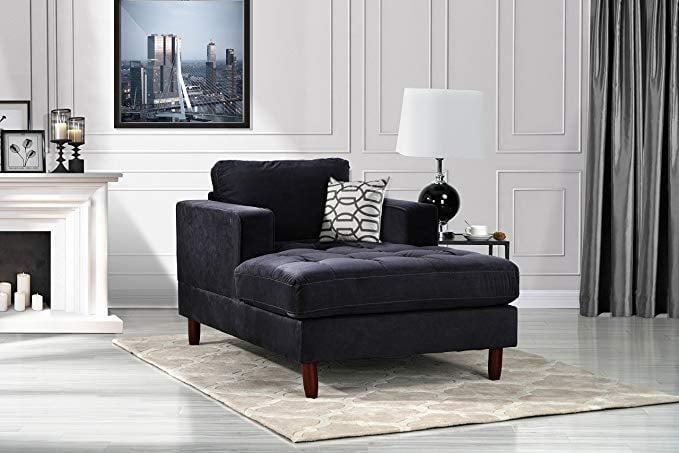 Divano Roma Mid Century Modern Chaise Lounge