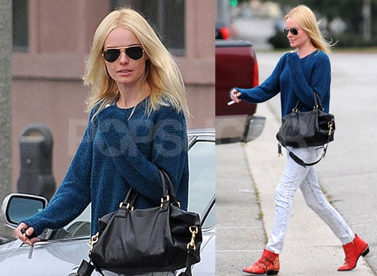 Photos of Kate Bosworth Going to a LA Salon After Chris Martin Rumors