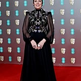 Olivia Colman at the EE British Academy Film Awards 2020