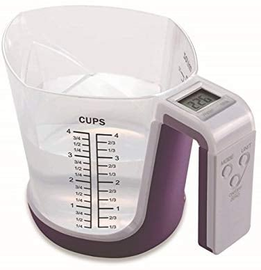 Digital Kitchen Food Scale and Measuring Cup