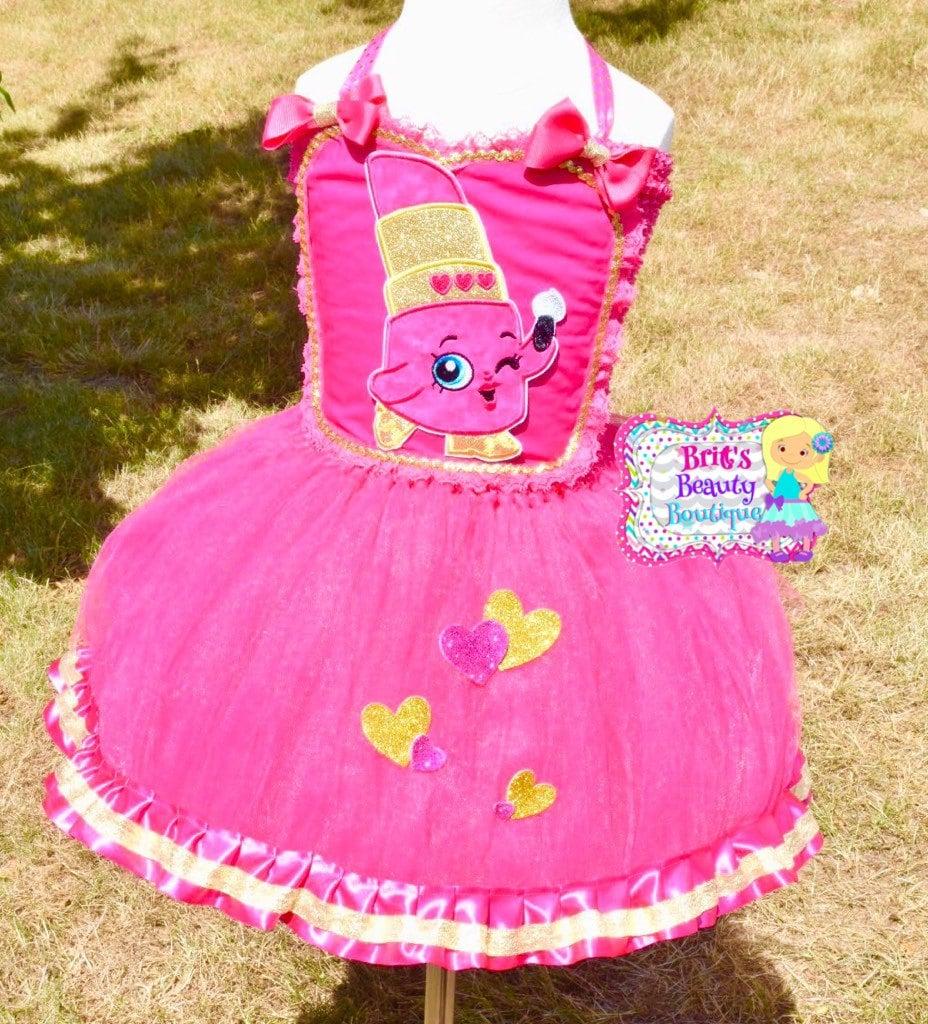 Shopkins Lippy Lip Tutu Dress | Shopkins Halloween Costumes For ...
