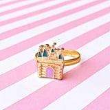 Rose Gold Castle Ring ($7)
