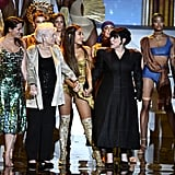 Lani Grande, Marjorie Grande, Ariana Grande, and Joan Grande