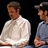 Will Ferrell and Paul Rudd read A Confederacy of Dunces aloud during May 2003.