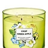 Bath and Body Works Crisp Green Apple 3-Wick Candle