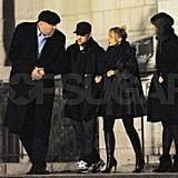 Nicole Richie and Joel Madden Shop Paris Ahead of Her Big Gilt Sale!