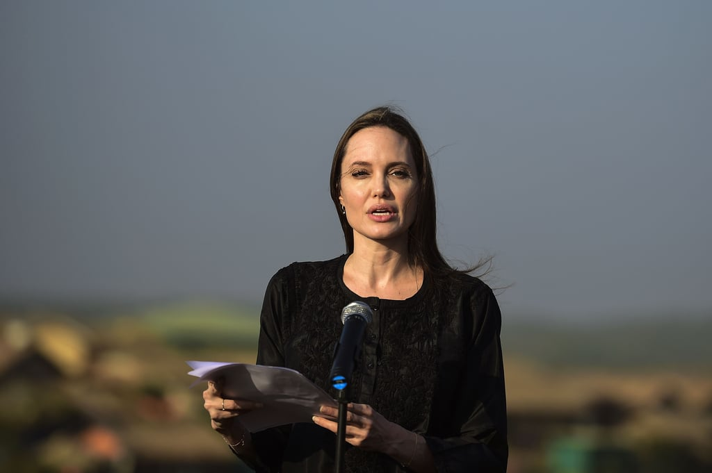 Angelina Jolie in Bangladesh Pictures February 2019