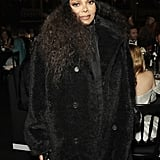 Janet Jackson at the British Fashion Awards 2019 in London