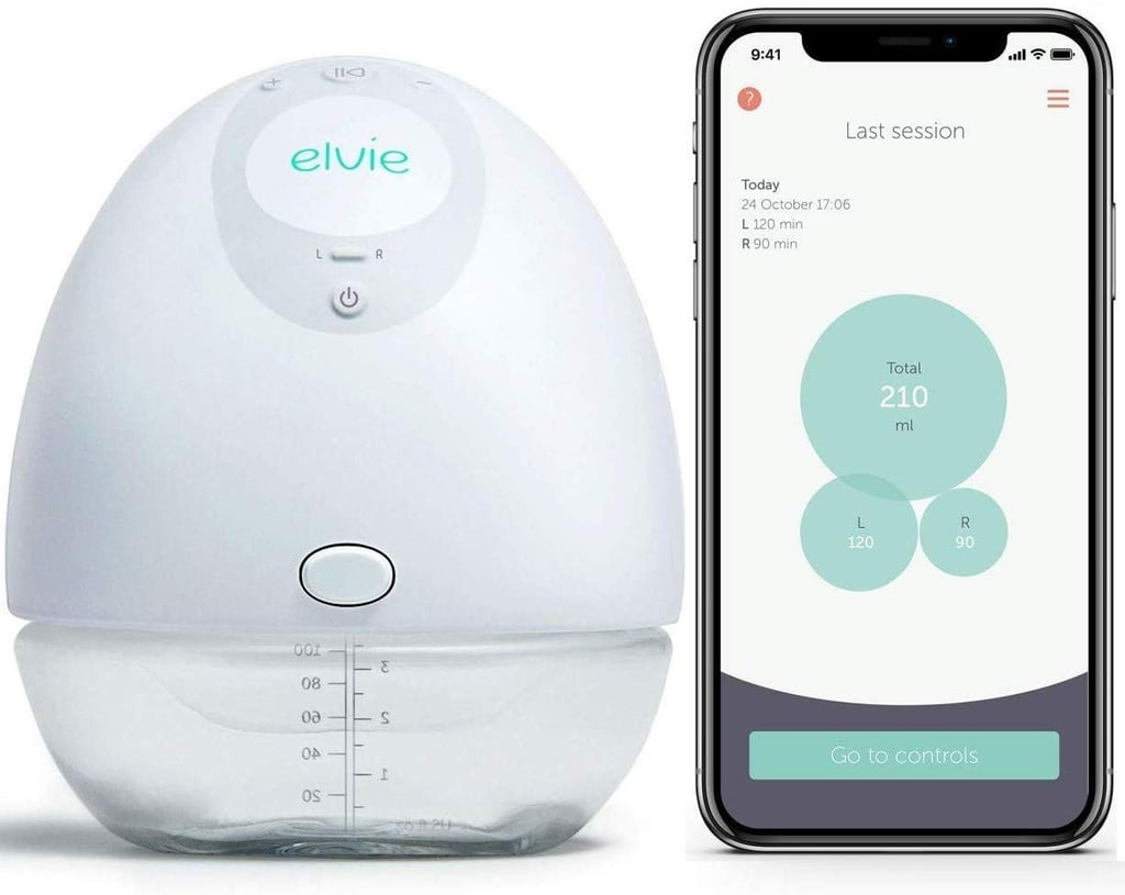 Elvie Single Silent Wearable Breast Pump with App