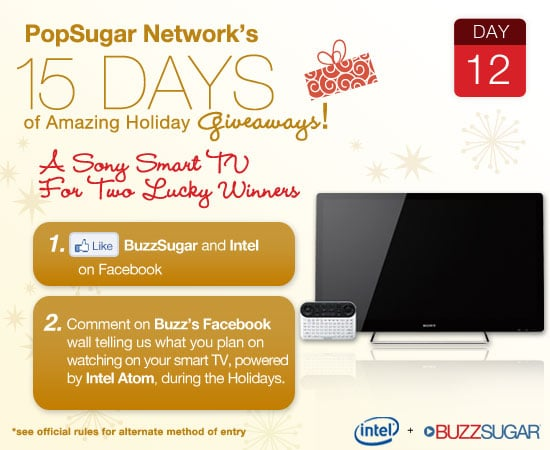 Win a Sony Smart TV giveaway for 2010