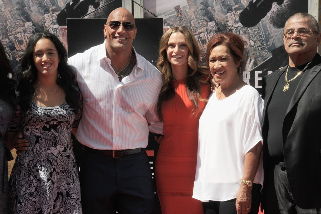 Dwayne Johnson Shares Eulogy Video From Father's Funeral