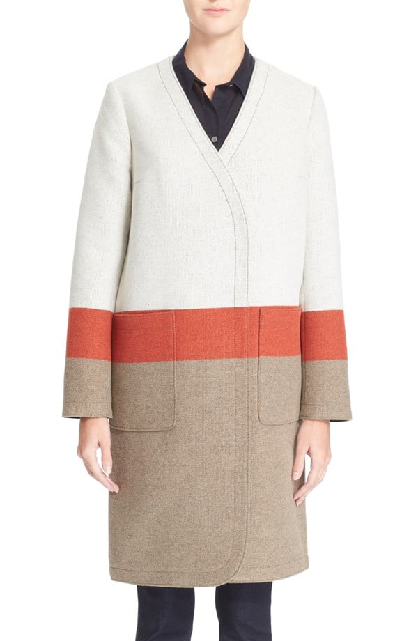 Tory Burch Blanket Stripe Coat ($695)