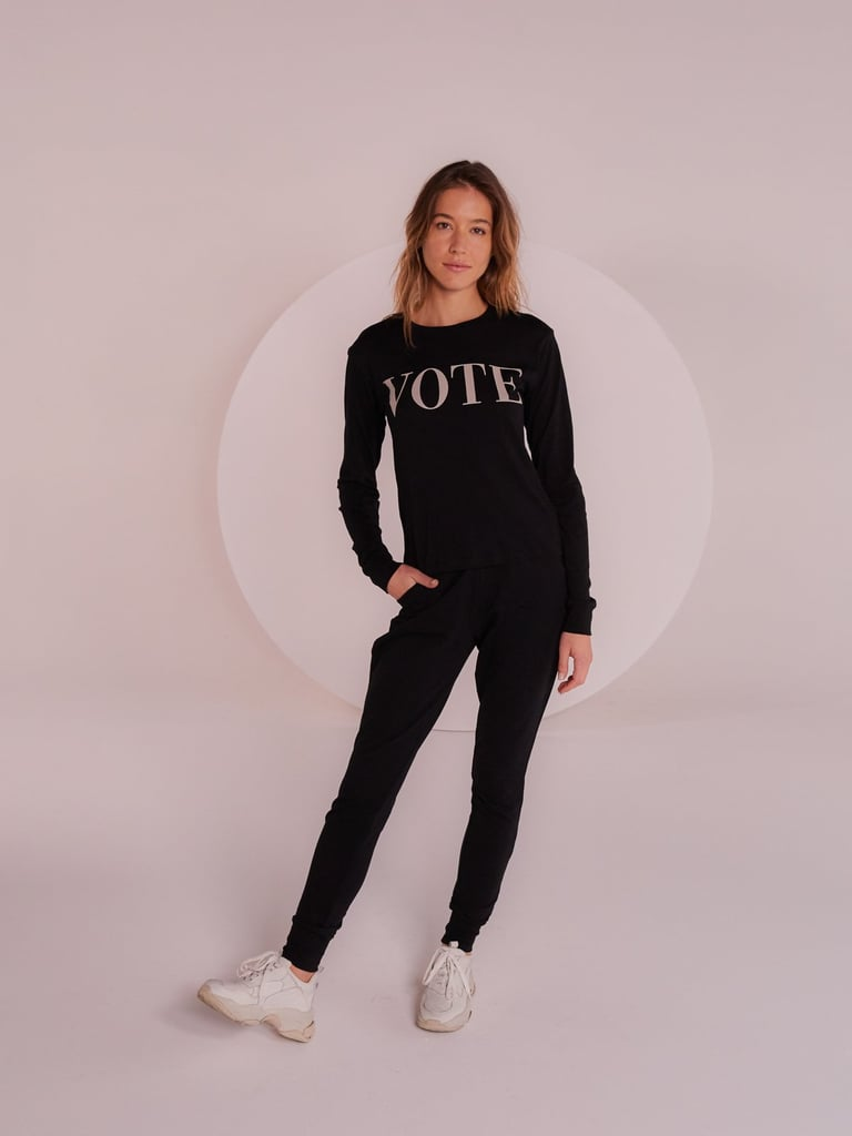 "Yes And Anna ""Vote"" Long Sleeve Tee"