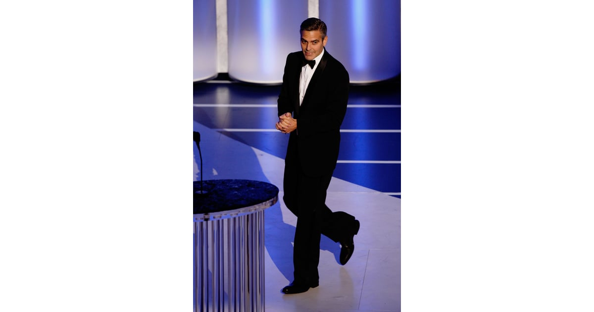 George Clooney At The 2008 Academy Awards 12 Suits